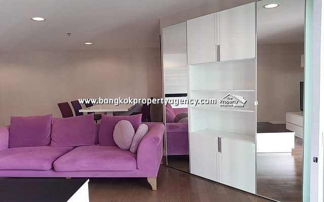 Belle Grand Rama 9: 2 bed 97 sqm well furnished unit with pool view