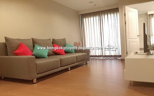 Belle Grand Rama 9: 1 bed 43 sqm fully furnished unit with city view