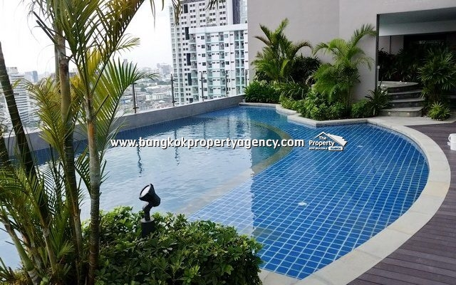 The Mark Condo Ratchada: Brand new 1 bed 38 sqm furnished unit