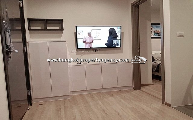 The Base Garden Rama 9: Brand new 1 Bed 27 sqm, high floor, unblocked view