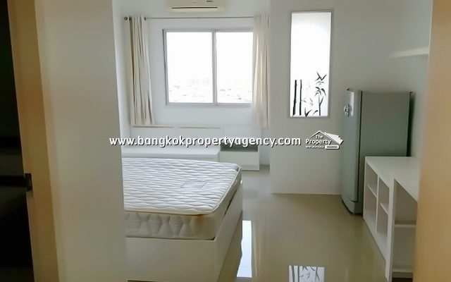 A Space Asoke-Ratchada: 25 sqm fully furnished studio/unblocked view