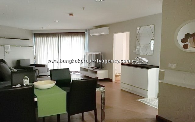 Belle Grand Rama 9: 2 bed 58 sqm fully furnished with pool view