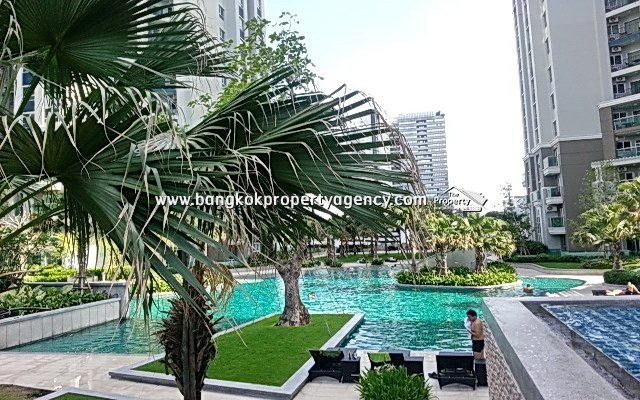 Belle Grand Rama 9: 2 bed 58 sqm fully furnished ** Hot Price**