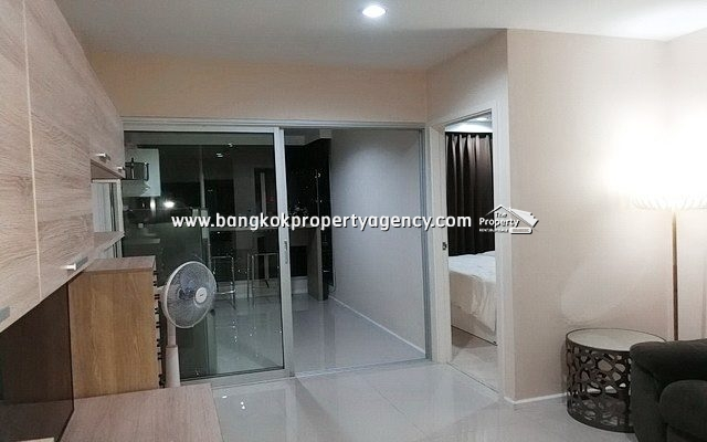 Aspire Rama 9: 1 Bed 39 sqm fully furnished, high floor/city view