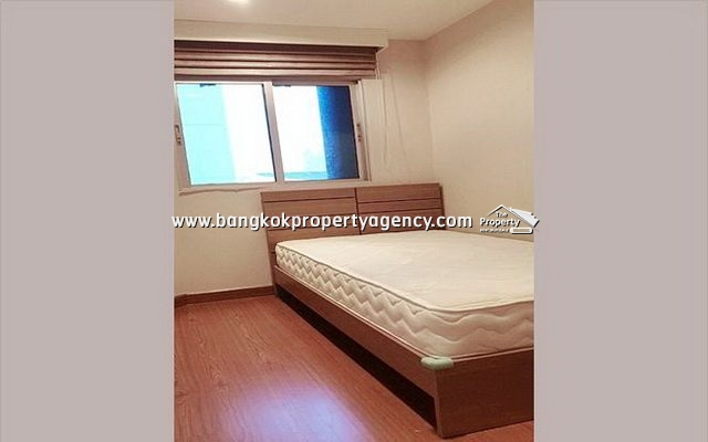 Belle Grand Rama 9: 3 bed 101 sqm fully furnished unit on high floor